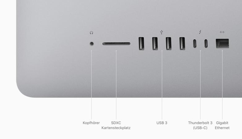 iMac Anschüsse e1583420333504