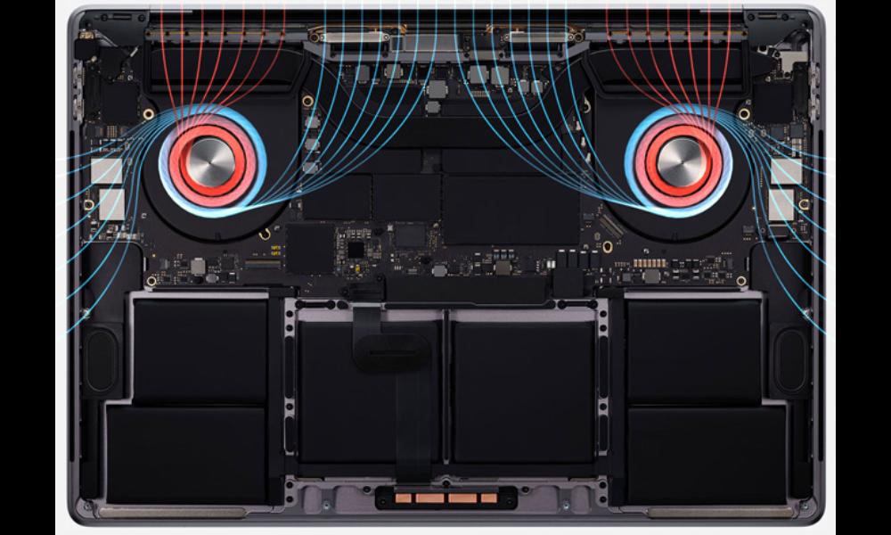 macBook PRo 16 thermals