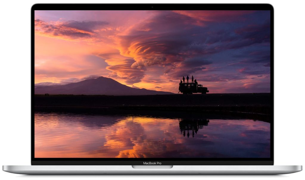 macBook Pro 16 Display